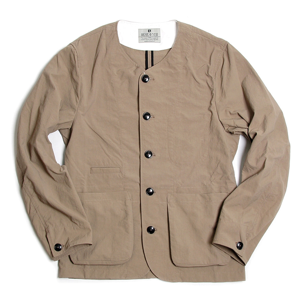[BEHEAVYER] BHR WINDY CARDIGUN 'LIGHT BROWN'