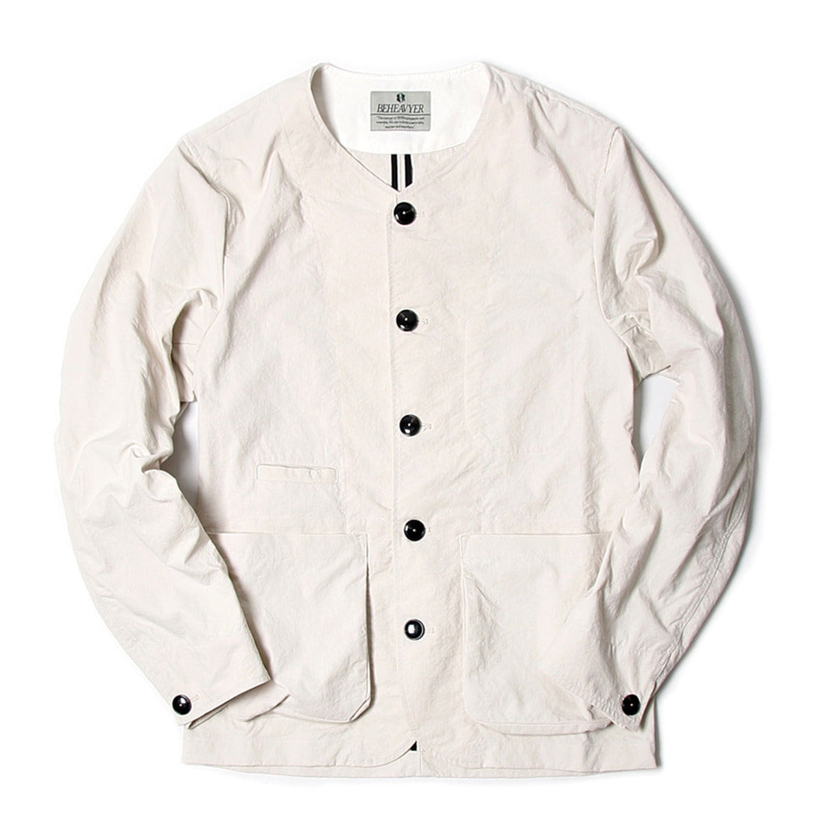 [BEHEAVYER] BHR WINDY CARDIGUN 'WHITE'