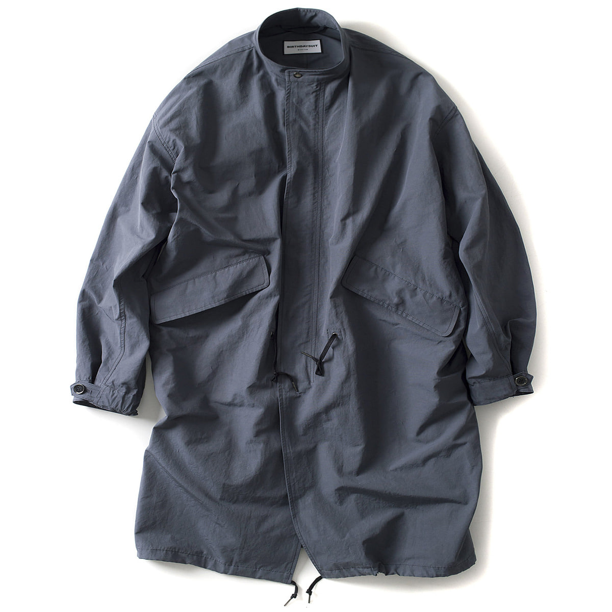 [BIRTHDAYSUIT] FISHTAIL PARKA 'L.SLATE GREY'