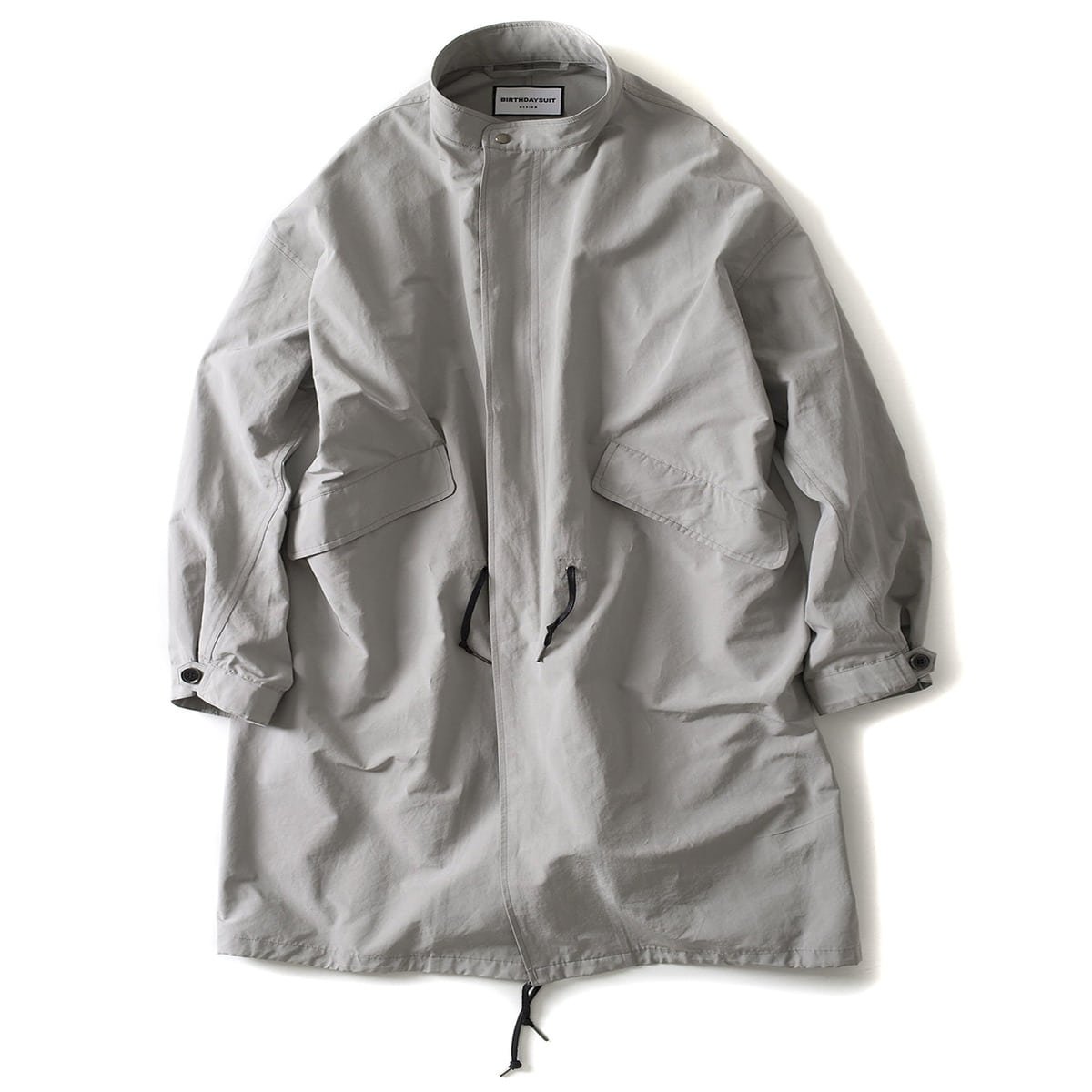 [BIRTHDAYSUIT] FISHTAIL PARKA 'BONE WHITE'
