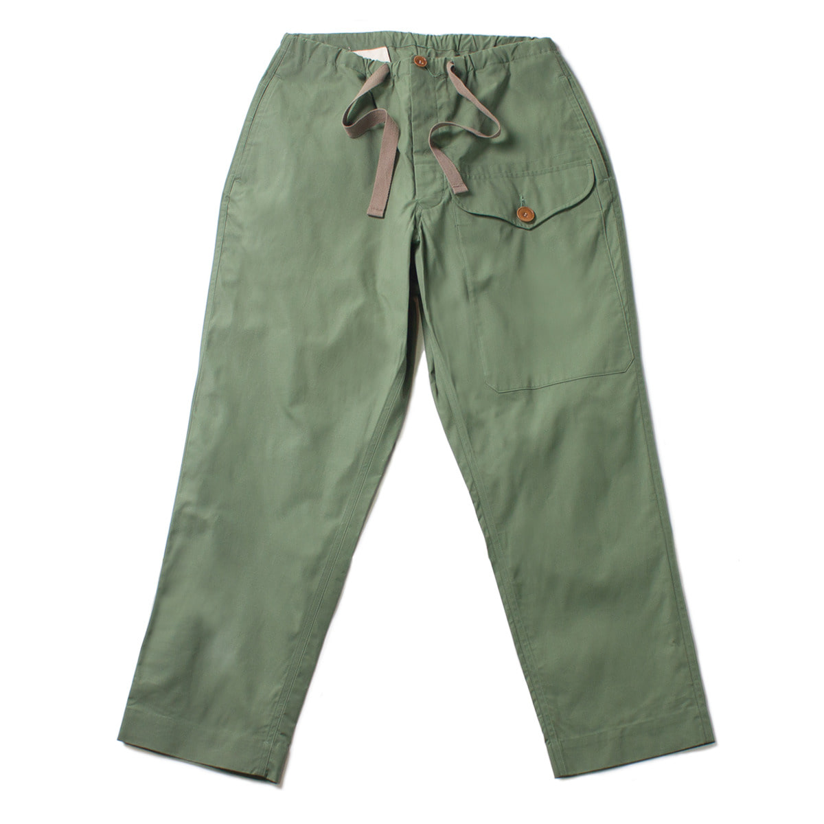 [HAVERSACK] HIGH DENSITY OXFORD PANTS 'OLIVE'