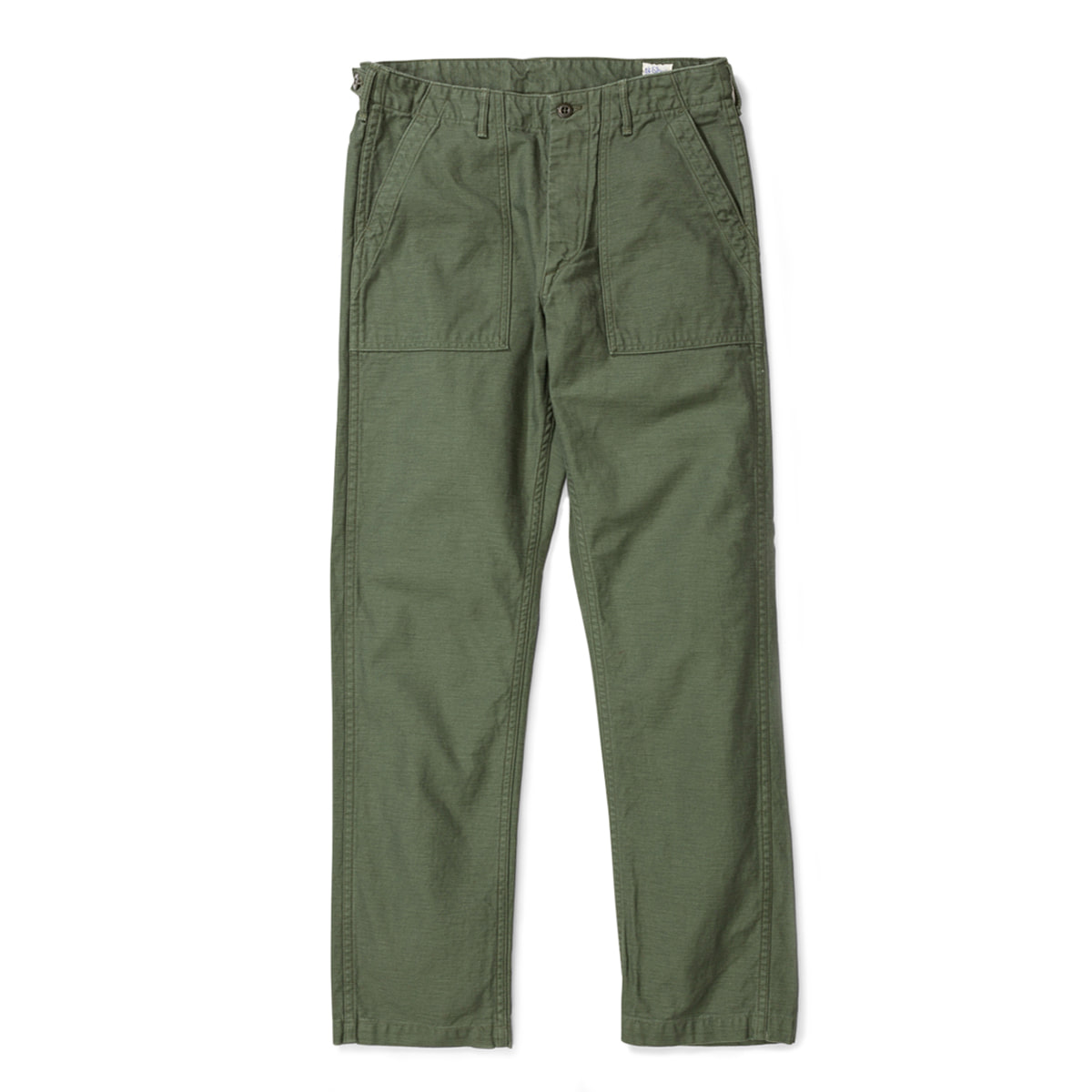 [ORSLOW] US ARMY FATIGUE SLIM FIT PANTS 'OLIVE'