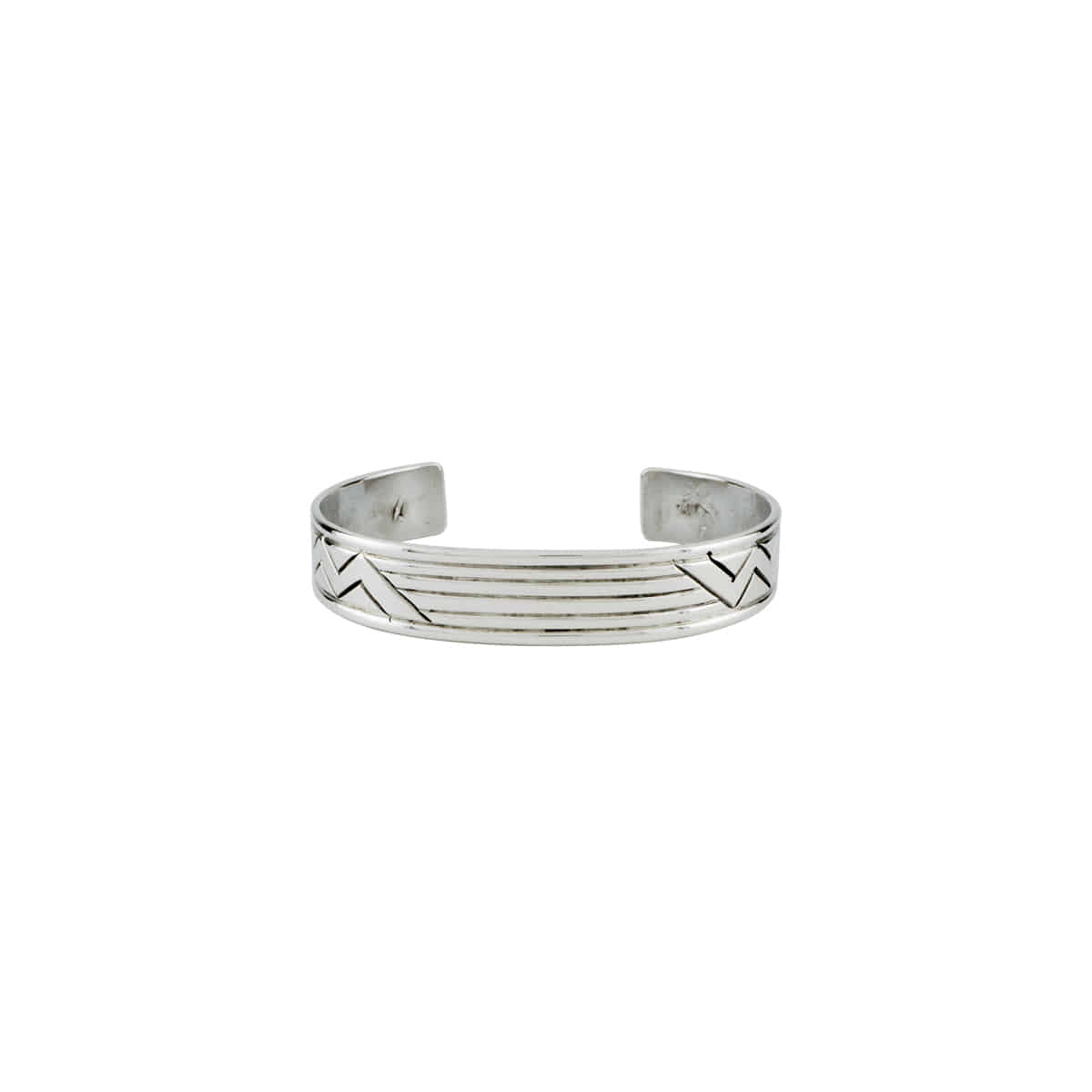 [NORTH WORKS] 900 SILVER CUFF BANGLE 'W-413'