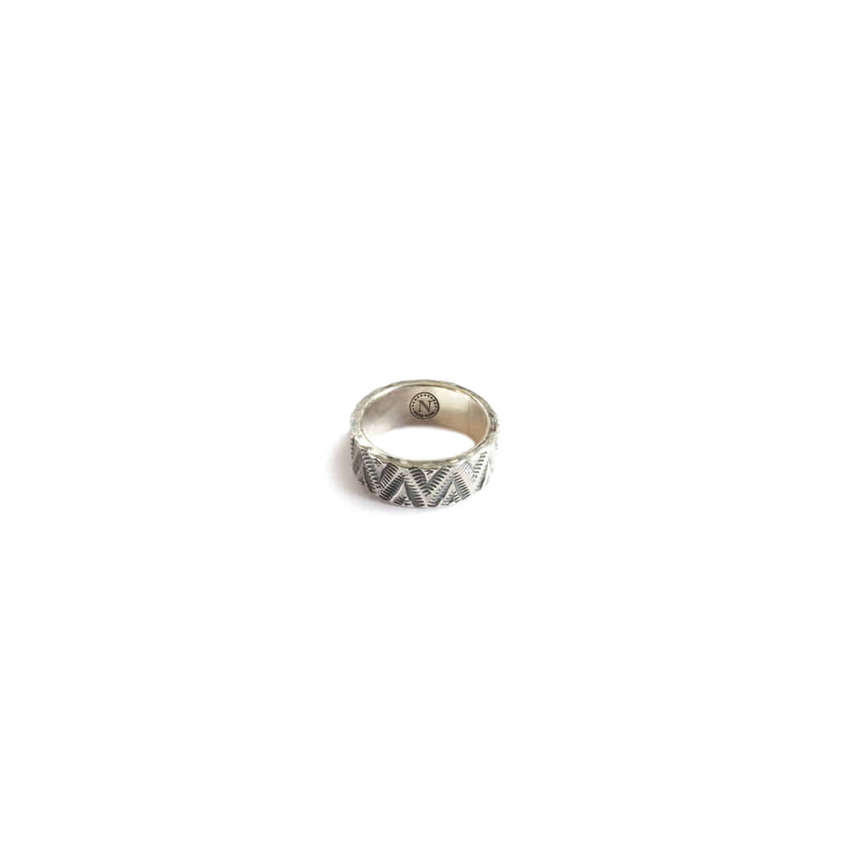[NORTH WORKS] 900 SILVER TRIANGLE WAVE RING 'W-050'