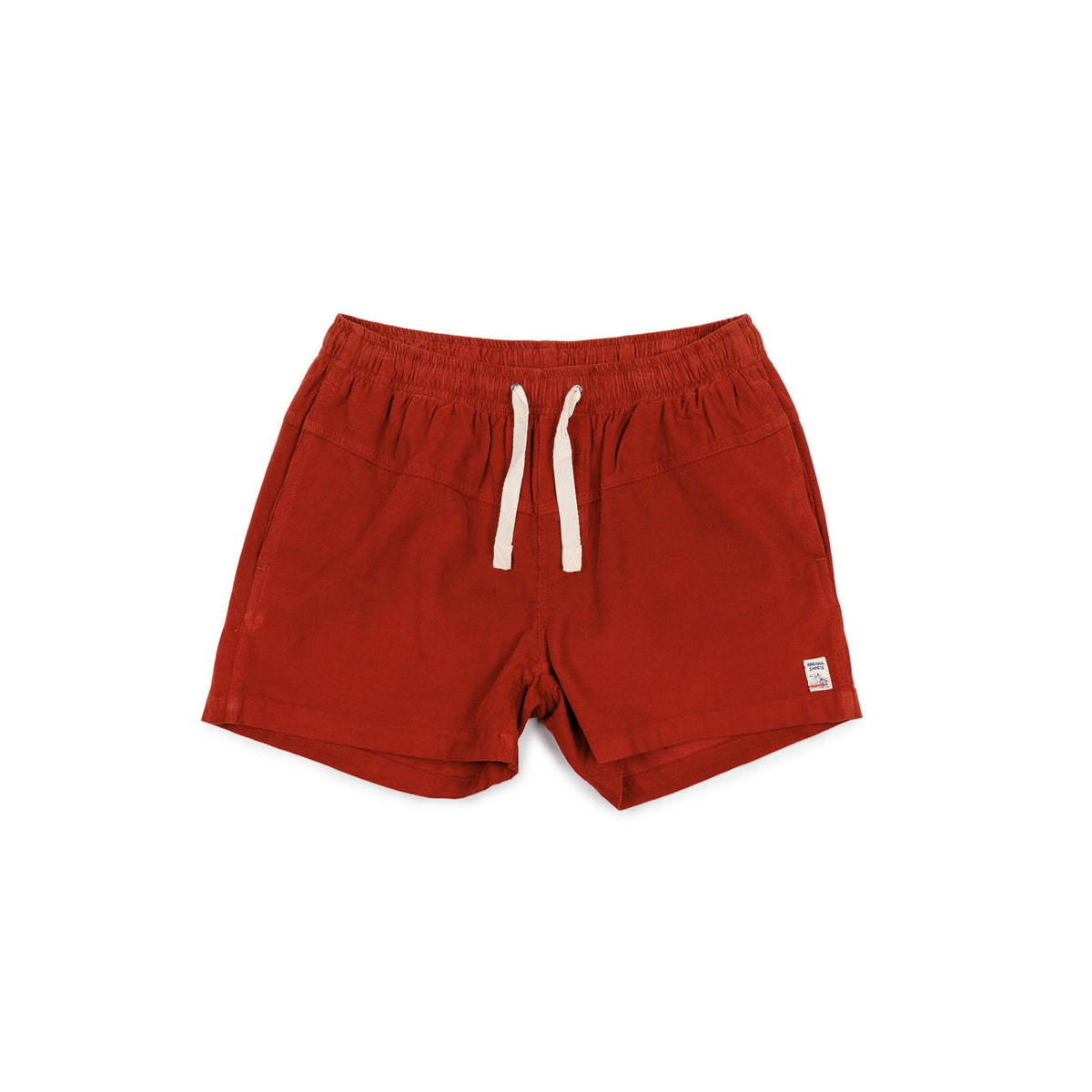 [M.Nii] CORDUROY DROWNER TRUNK 'RED'