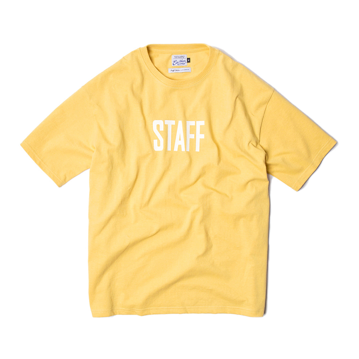 [ELSEWEAR] ELSEWEAR STAFF COLLECTION SS TEE 'LEMON'
