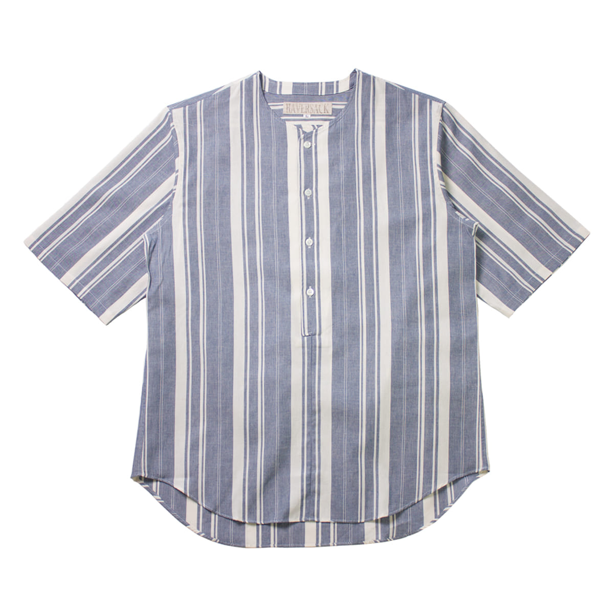 [HAVERSACK] HICKORY STRIPE SHIRT 'INDIGO'