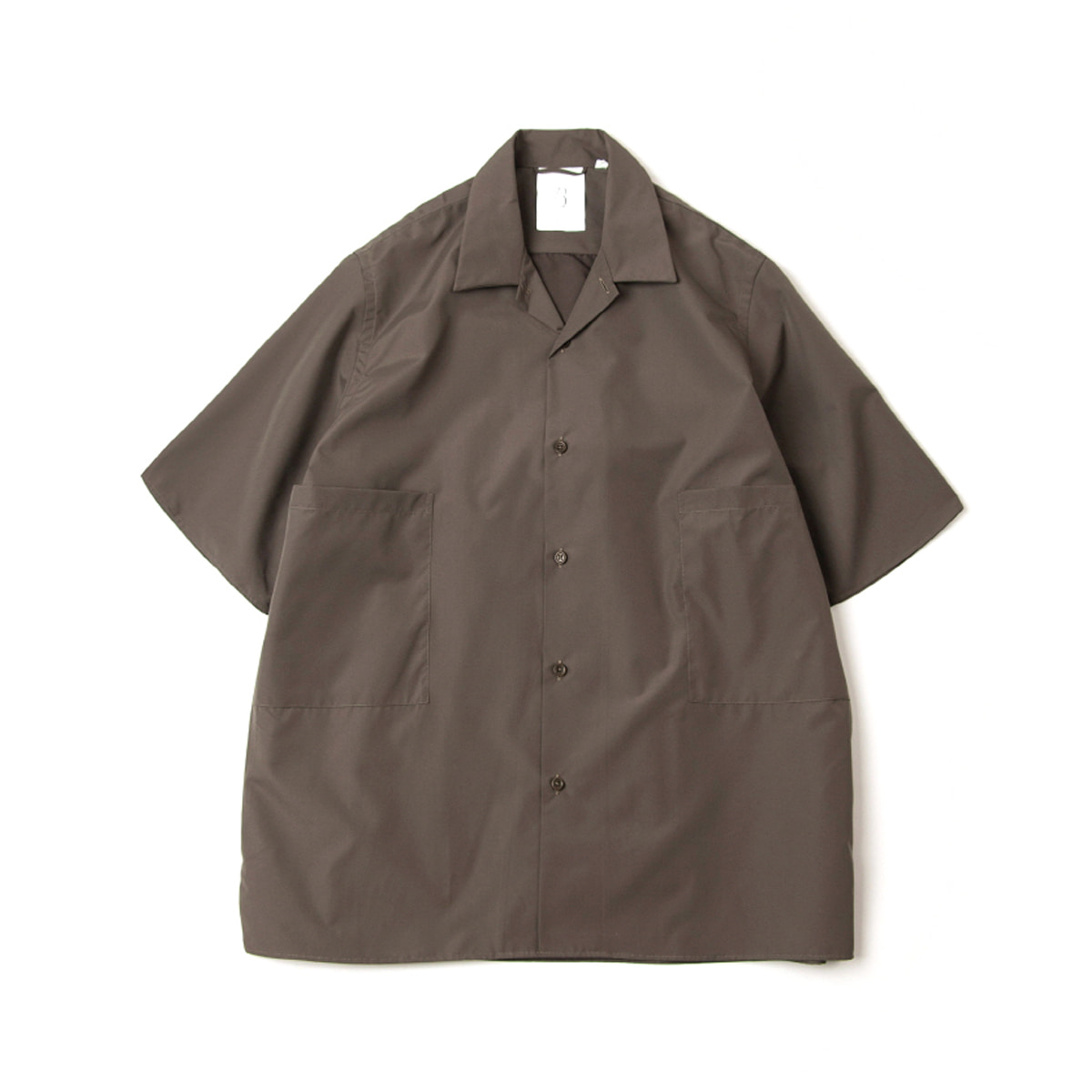 [BROWNYARD] CONVERTIBLE COLLAR SHIRTS 02 'OLIVE'