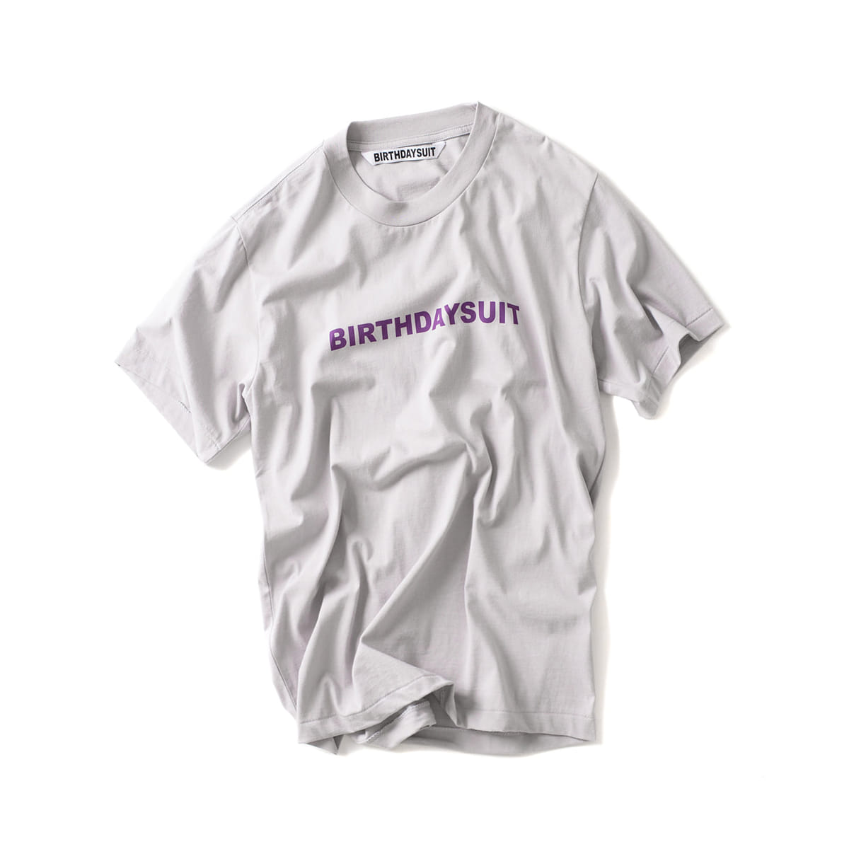 [BIRTHDAYSUIT] LOGO TEE 'WELCHS'