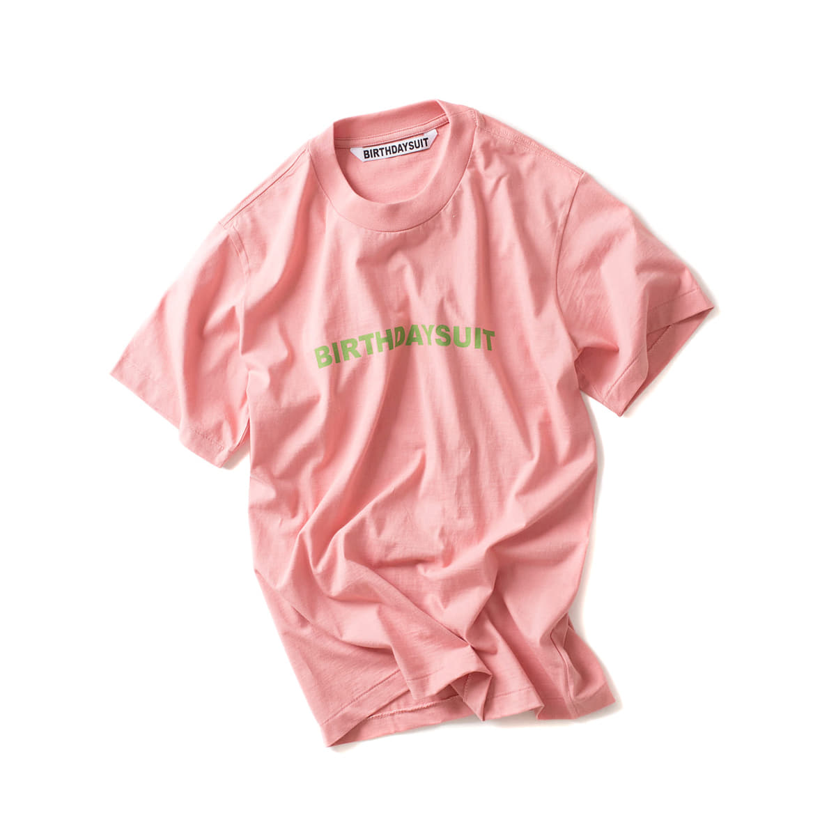 [BIRTHDAYSUIT] LOGO TEE 'BASKIN'