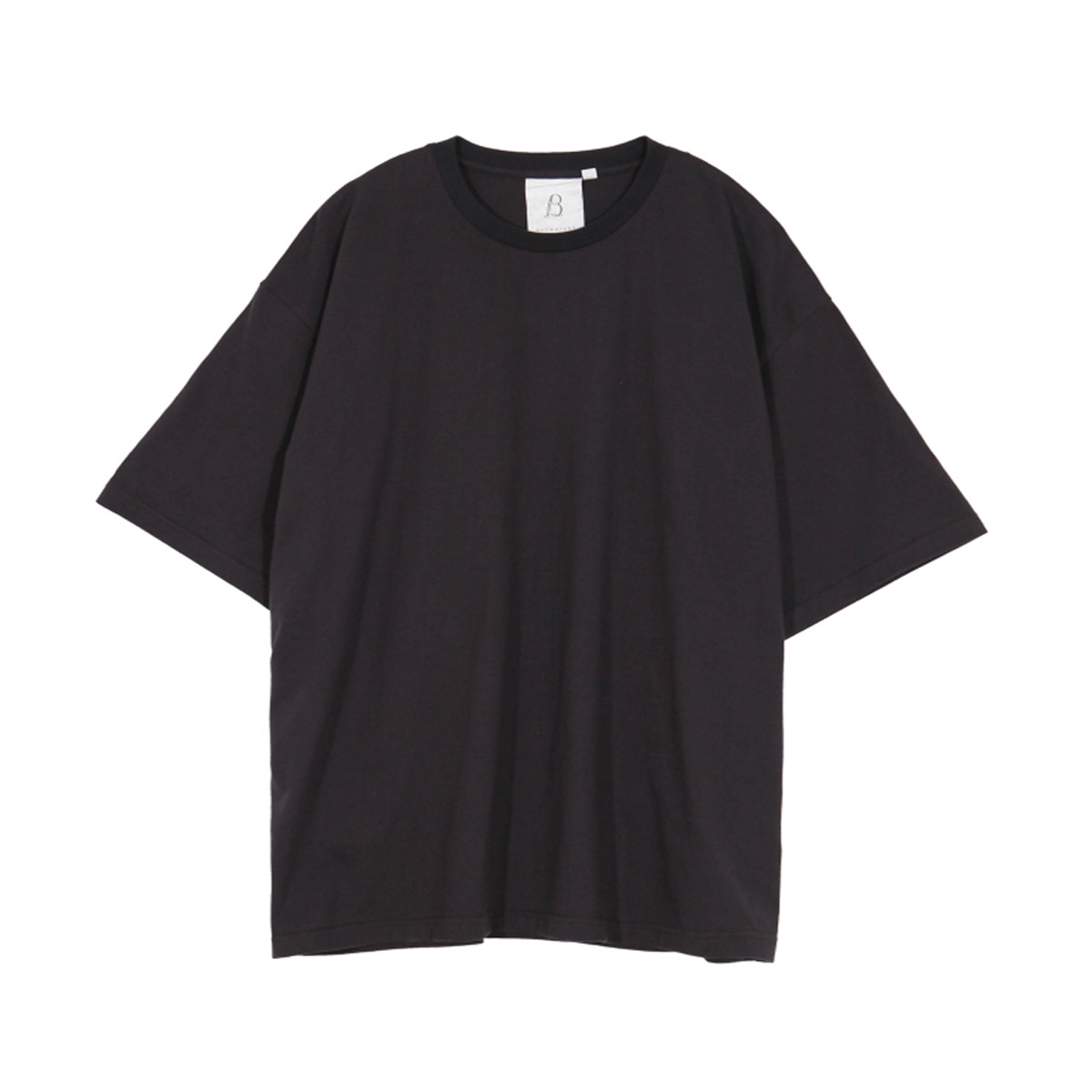 [BROWNYARD] ONE DAY T-SHIRT 'DARK GREY'