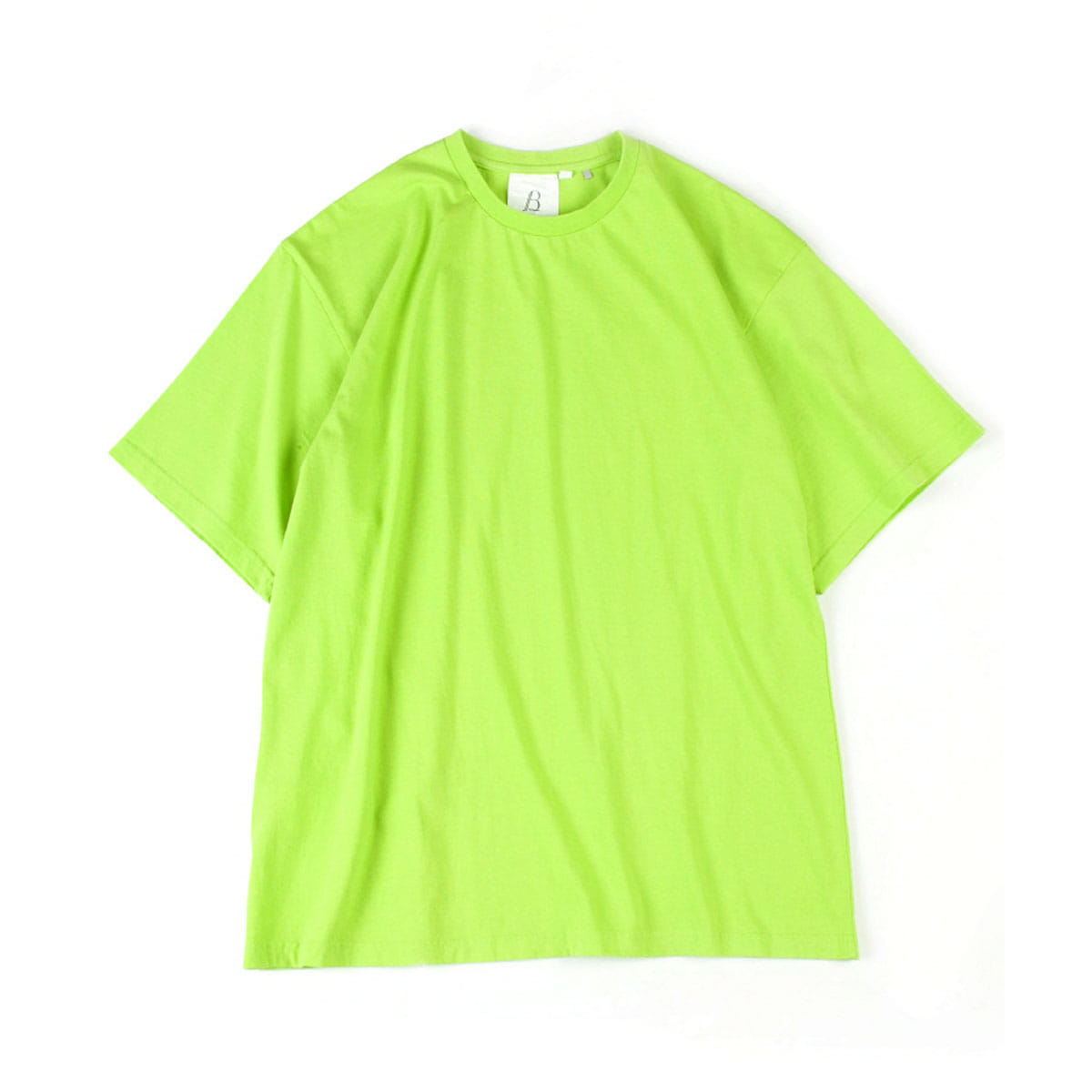 [BROWNYARD] ONE DAY T-SHIRT 'LIME'