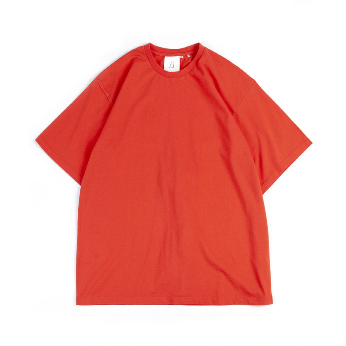 [BROWNYARD] ONE DAY T-SHIRT 'CORAL'