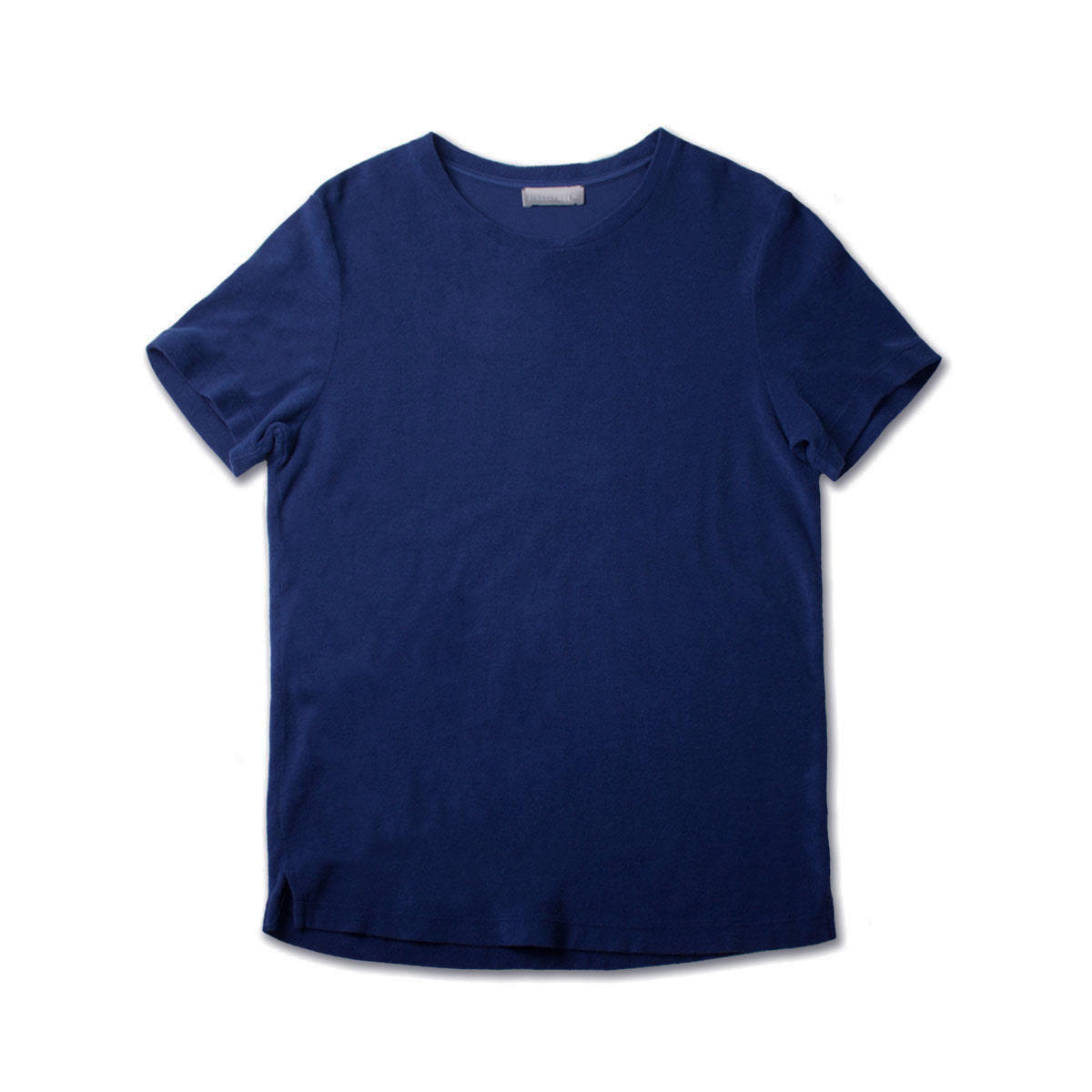 [GIRELLI BRUNI] WIDE NECK TERRY COLTH T-SHIRT 'INDIGO'