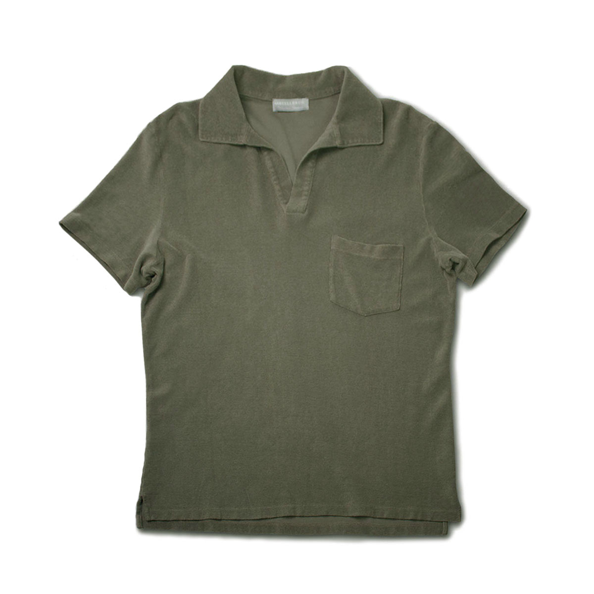 [GIRELLI BRUNI] OPEN COLLAR POLO SHIRT 'LAGON'