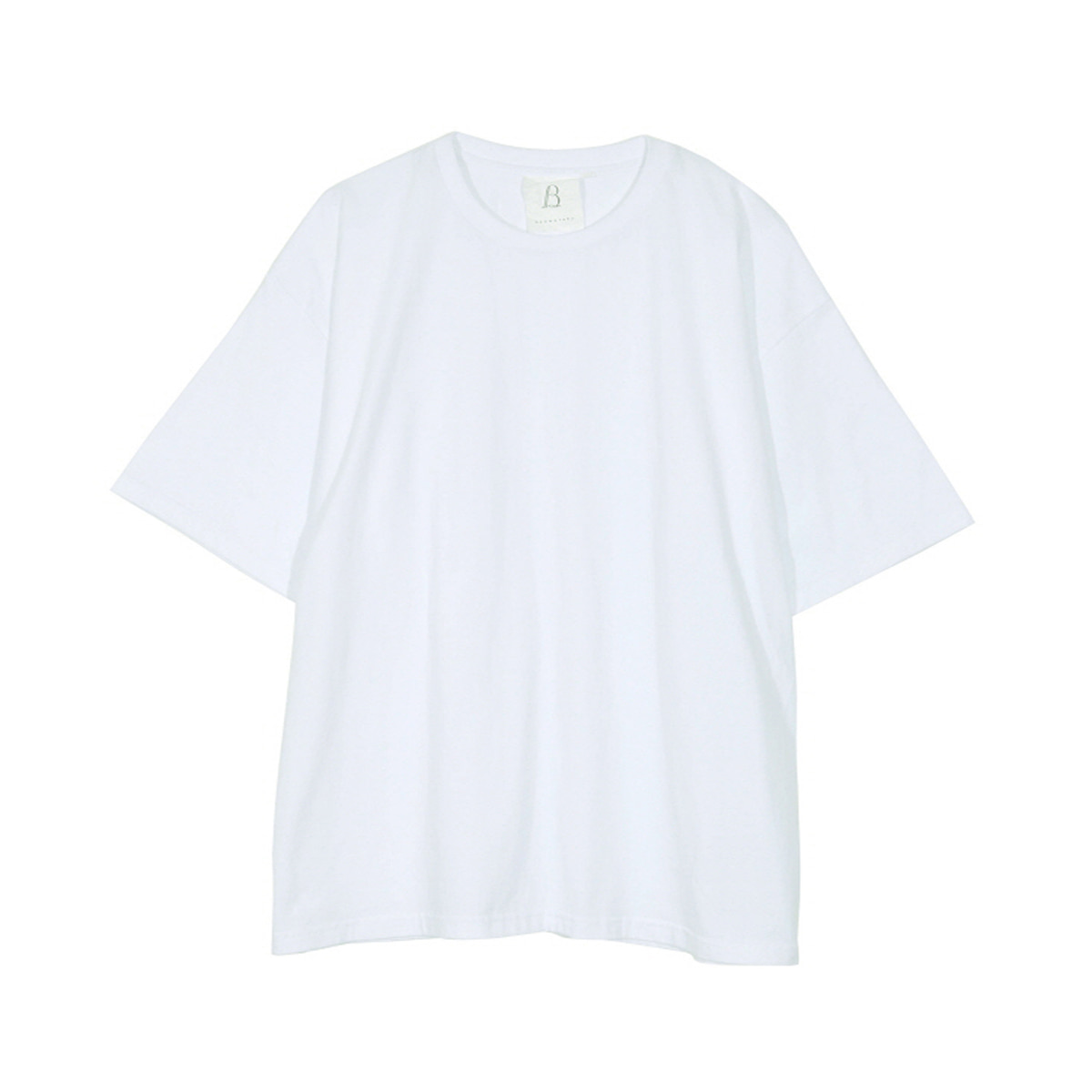 [BROWNYARD] ONE DAY T-SHIRT 'WHITE'