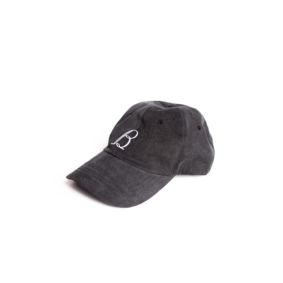 [BROWNYARD] VINTAGE BASEBALL CAP 'WASHED BLACK'