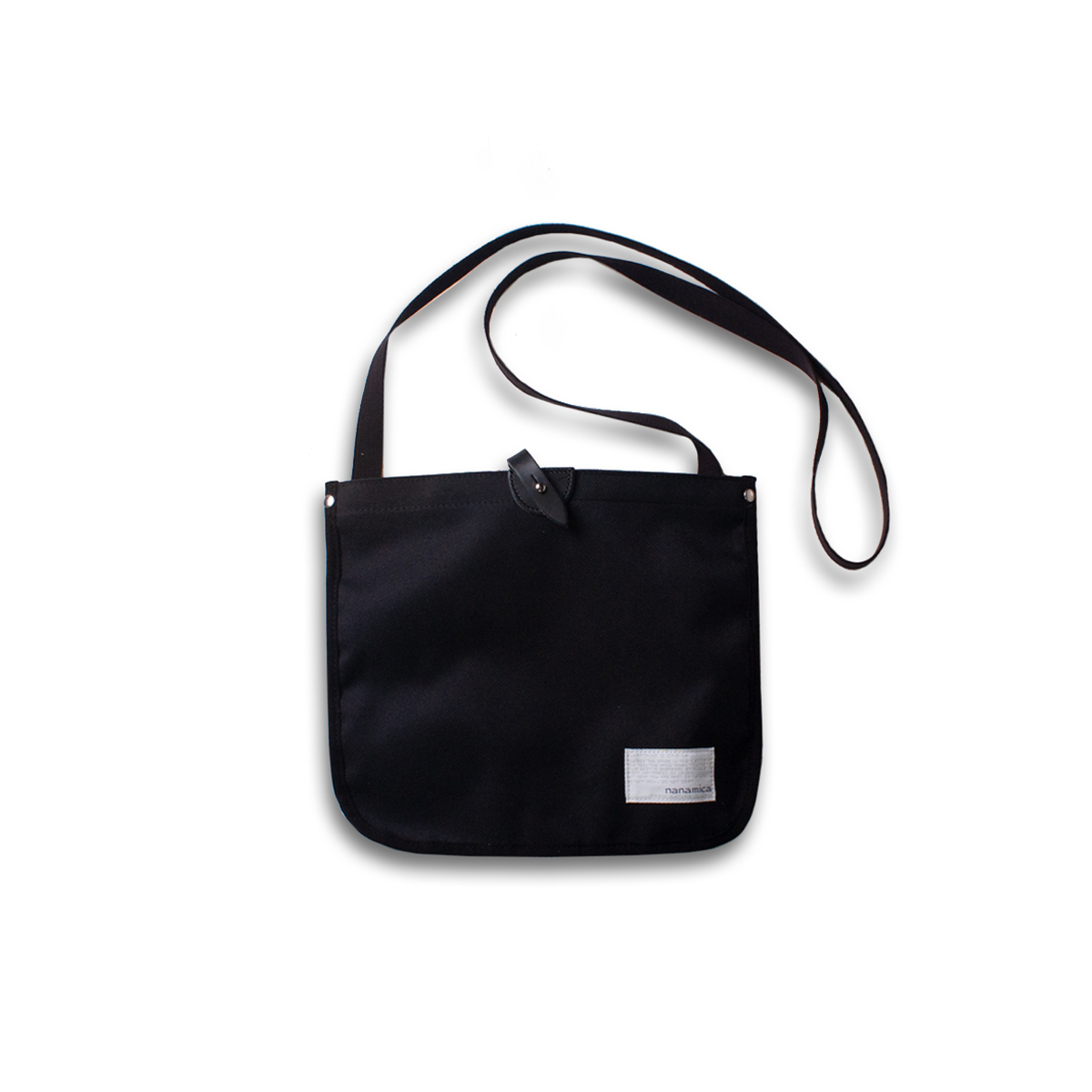 [NANAMICA] SHOULDER BAG 'BLACK'