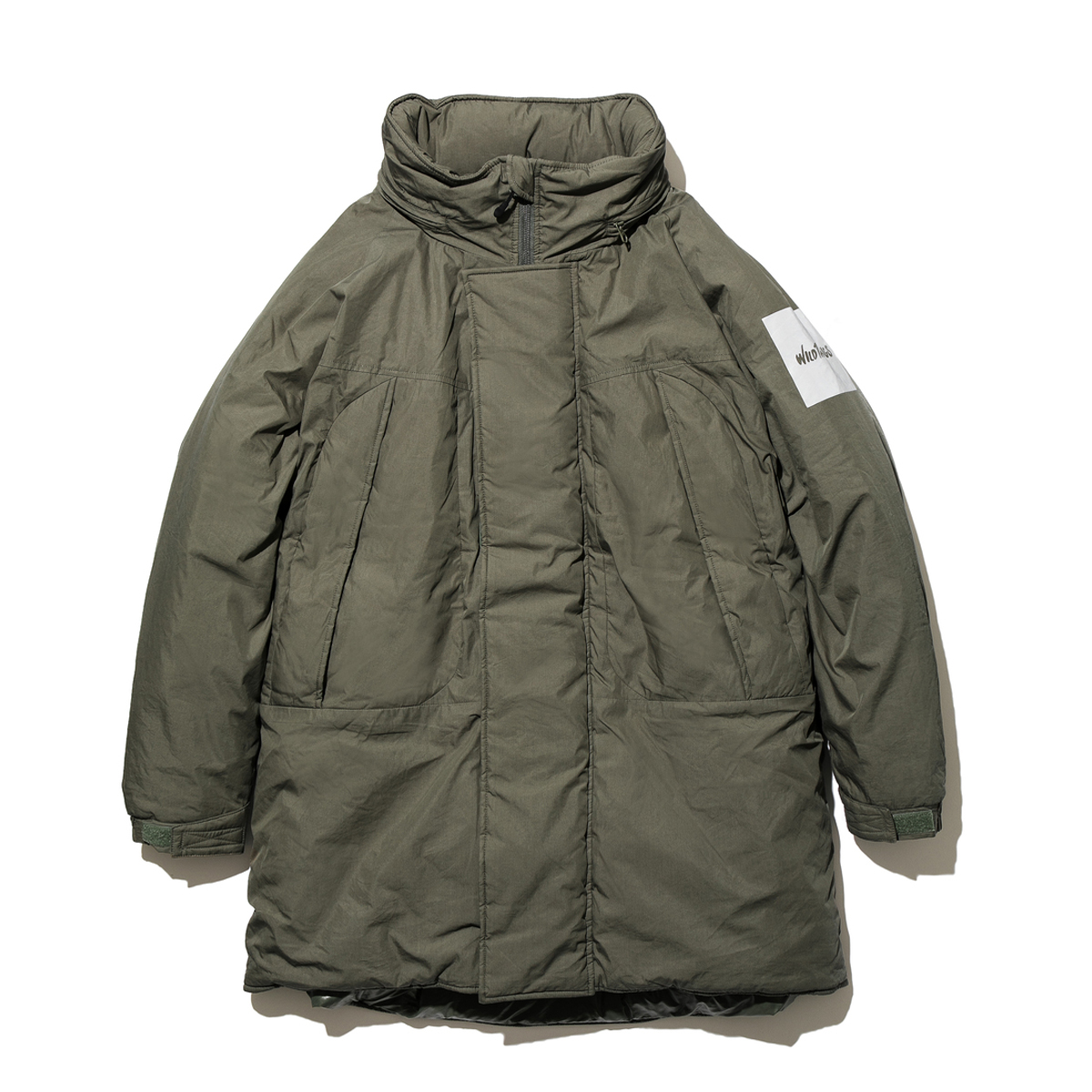 [WILD THINGS] MONSTER PARKA 'LEAF'