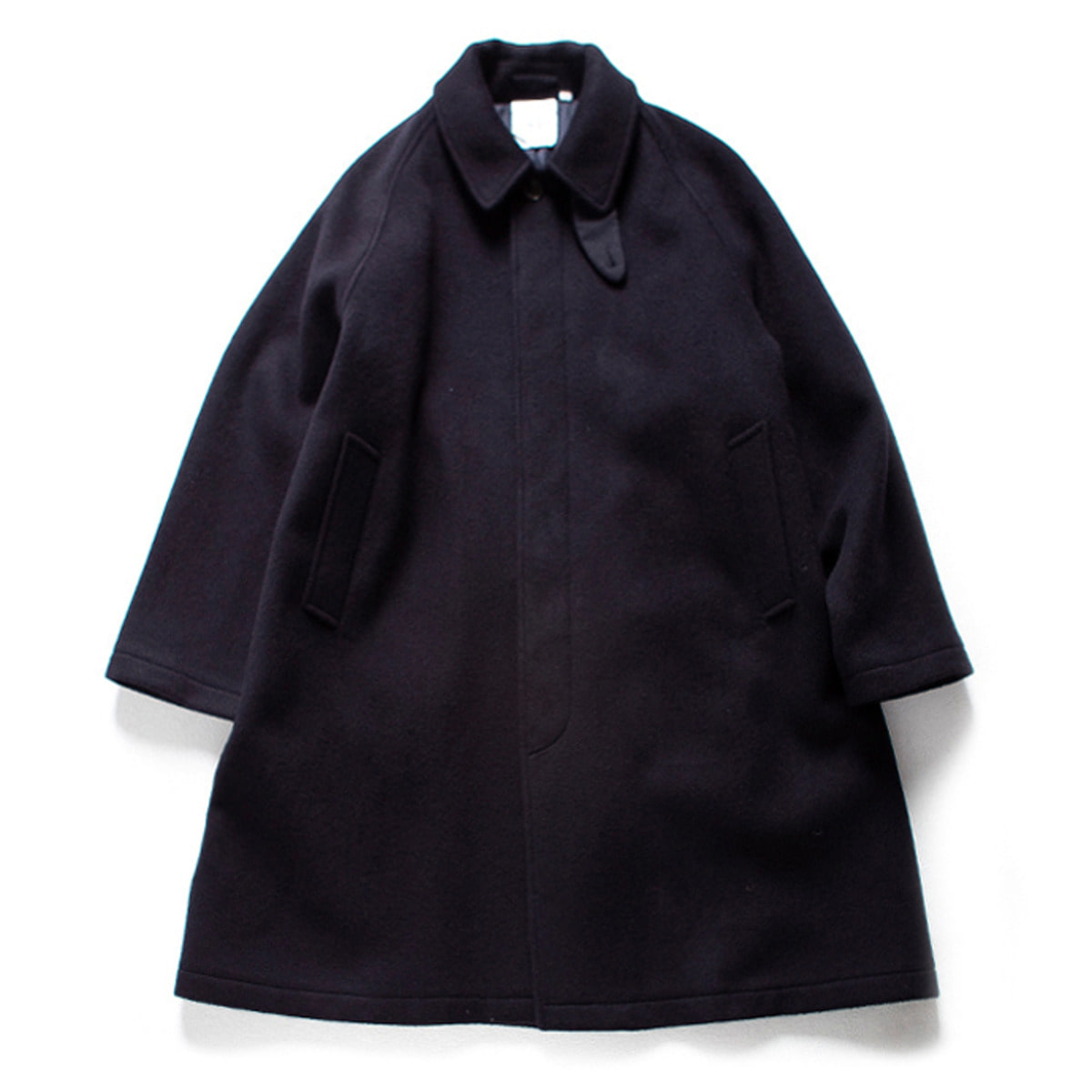 [BROWNYARD] BALMACAAN COAT 'NAVY'