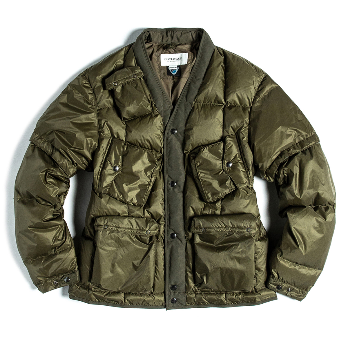 [EASTLOGUE] C-1 DOWN JACKET 'OLIVE'