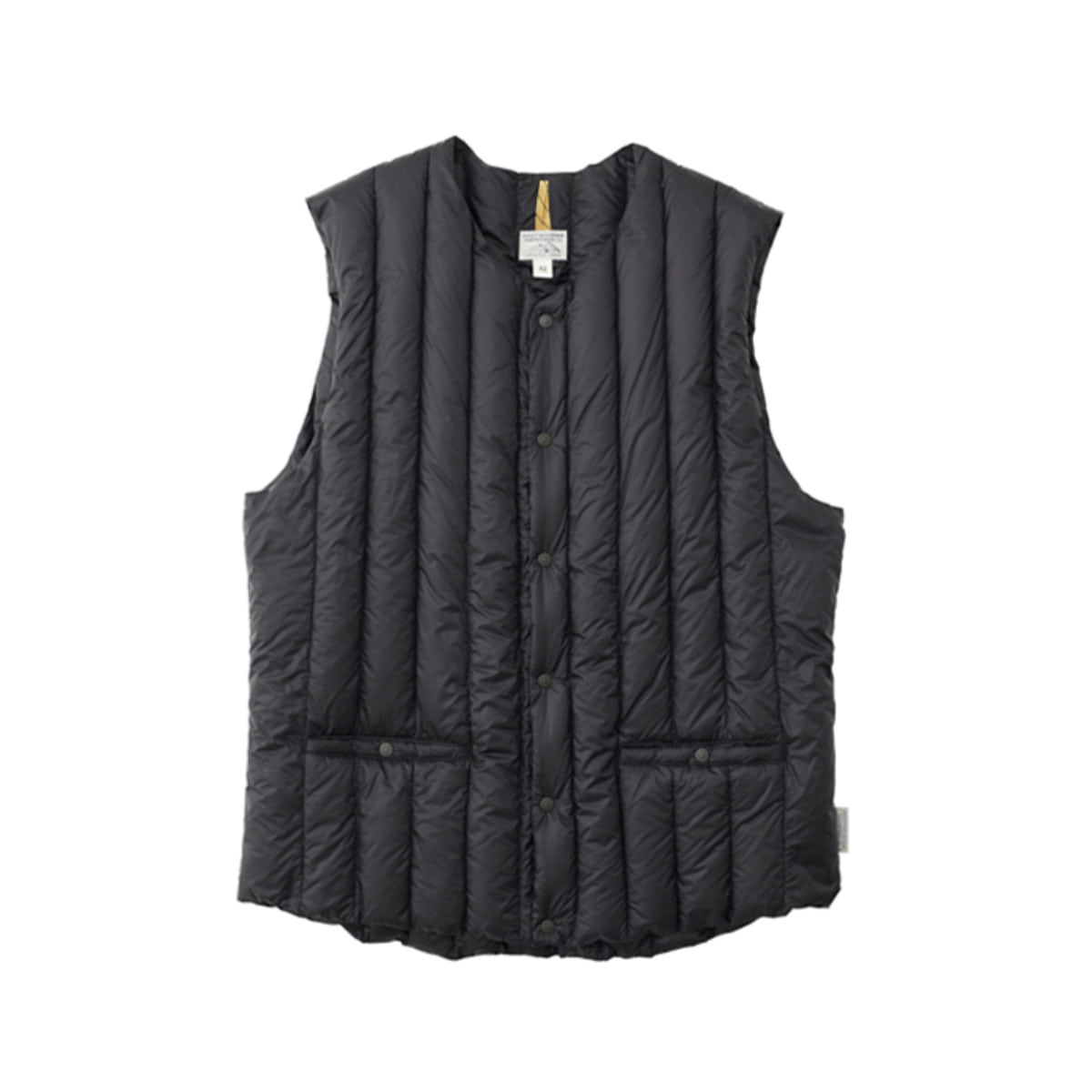 [ROCKY MOUNTAIN] SIX MONTH VEST 'BLACK'