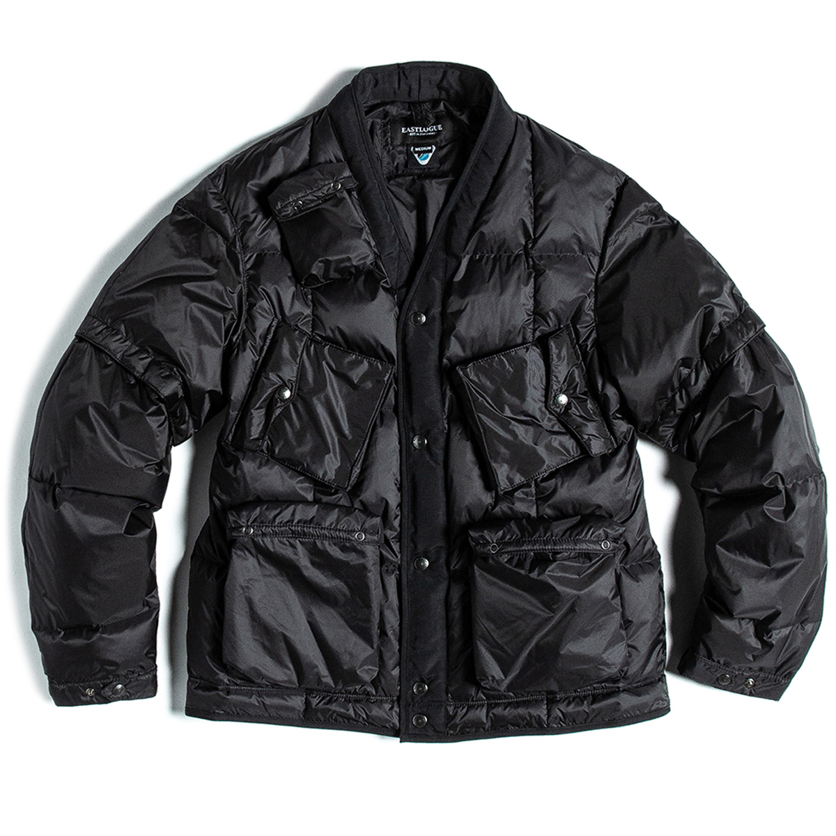 [EASTLOGUE] C-1 DOWN JACKET 'BLACK'