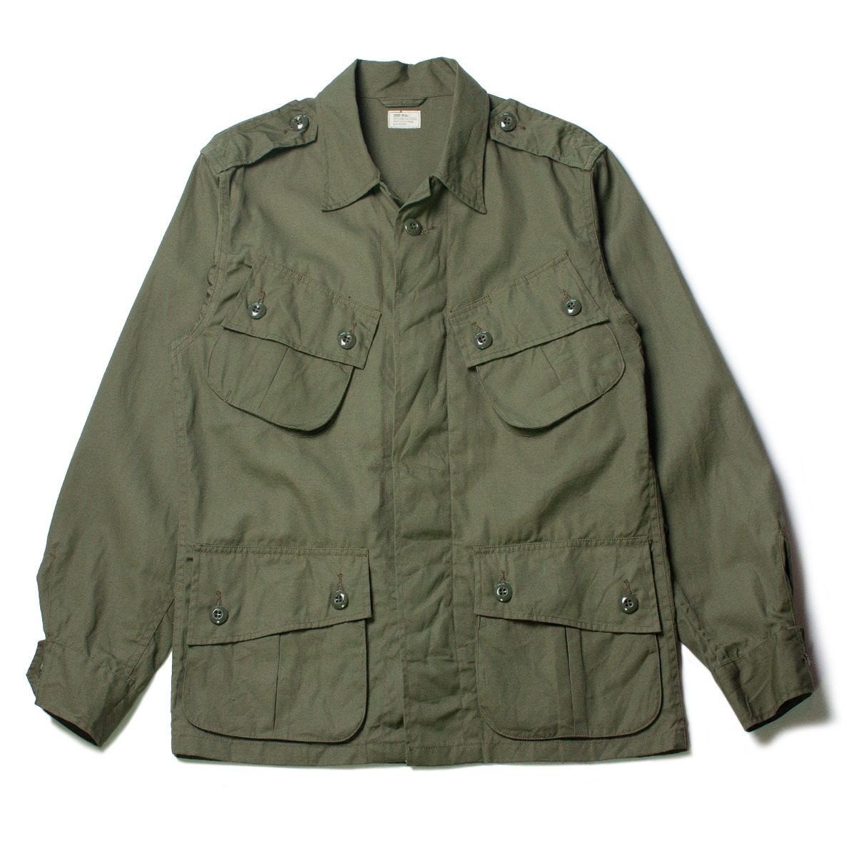 [BUZZ RICKSON'S] BR12247 COMBAT TROPICAL JACKET 'OLIVE'