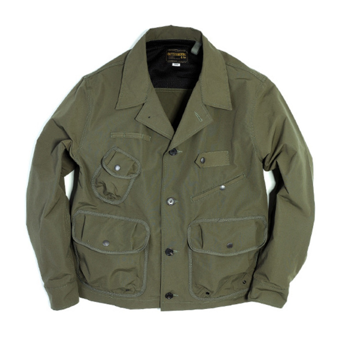 [OUTSTANDING] TEN COLLAR JACKET 'OLIVE'