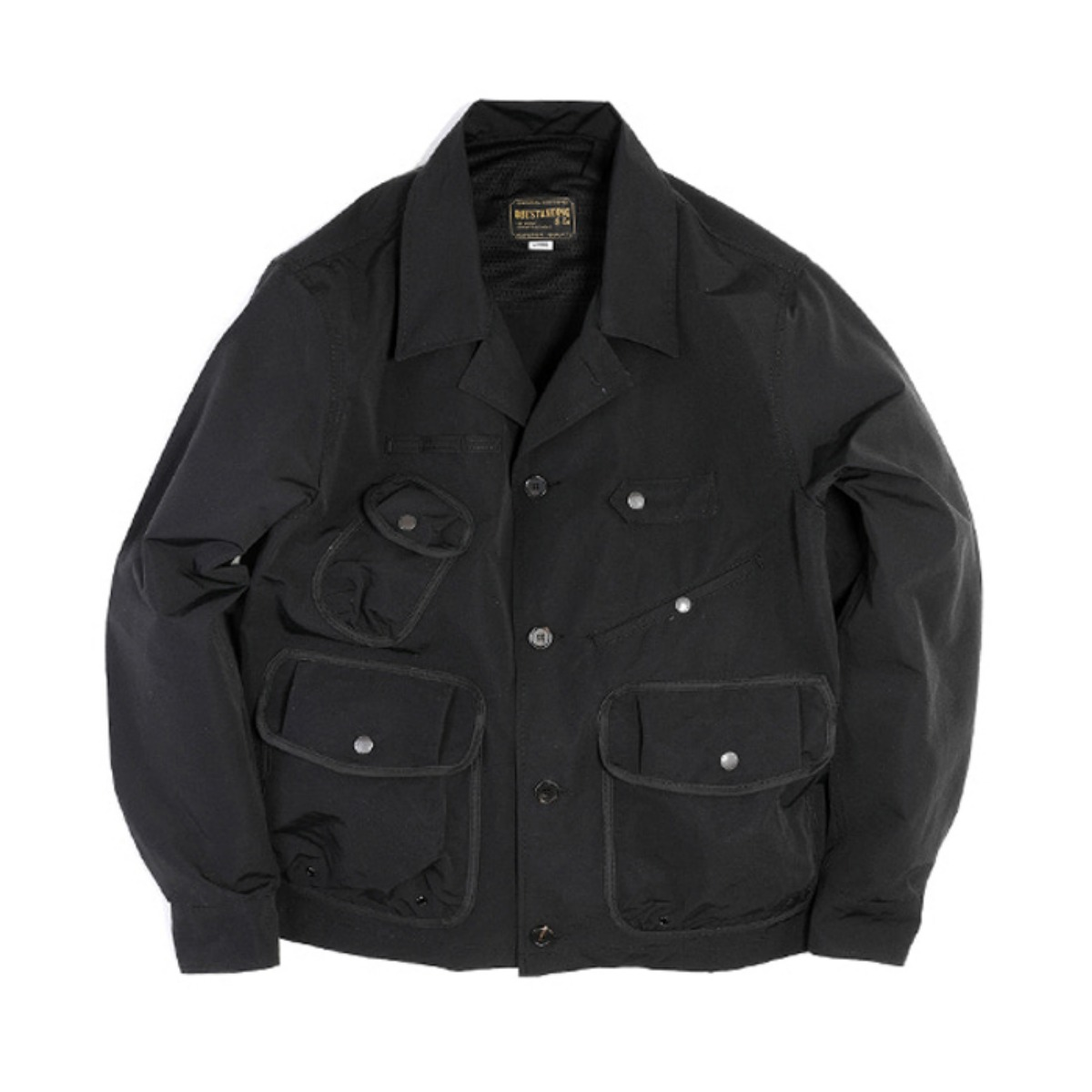 [OUTSTANDING] TEN COLLAR JACKET 'BLACK'