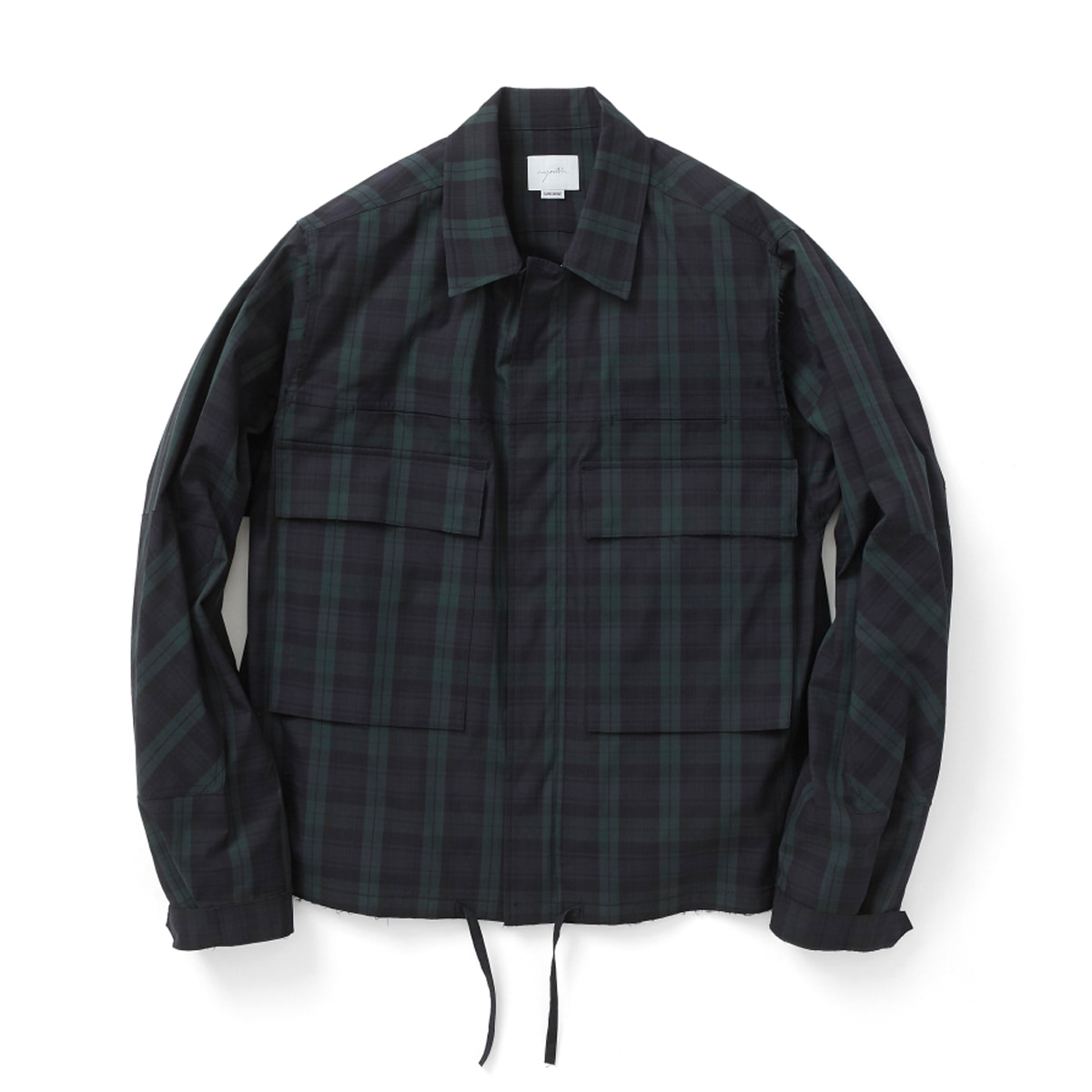 [YOUTH] CUT-OFF CROPPED JACKET 'BLACK WATCH'
