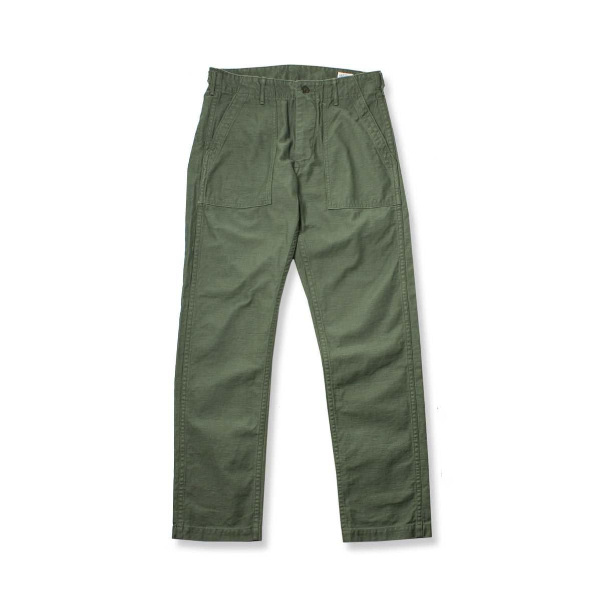 [ORSLOW] US ARMY FATIGUE PANTS SLIM FIT 'OLIVE'