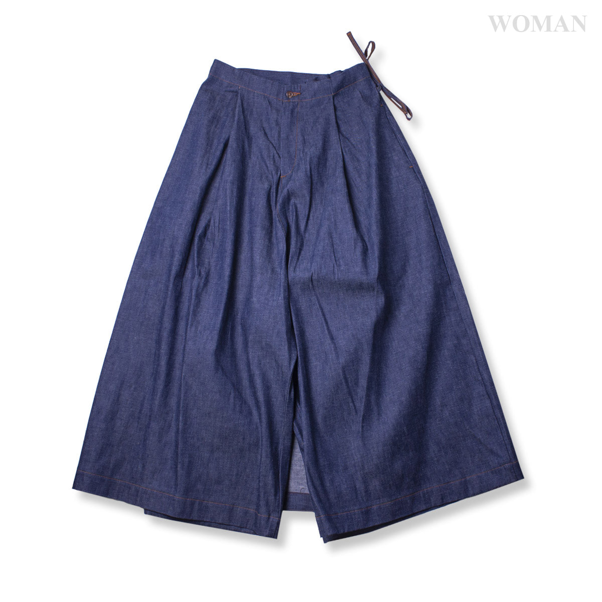 [ORSLOW] WRAP WIDE PANTS 'RIGID'