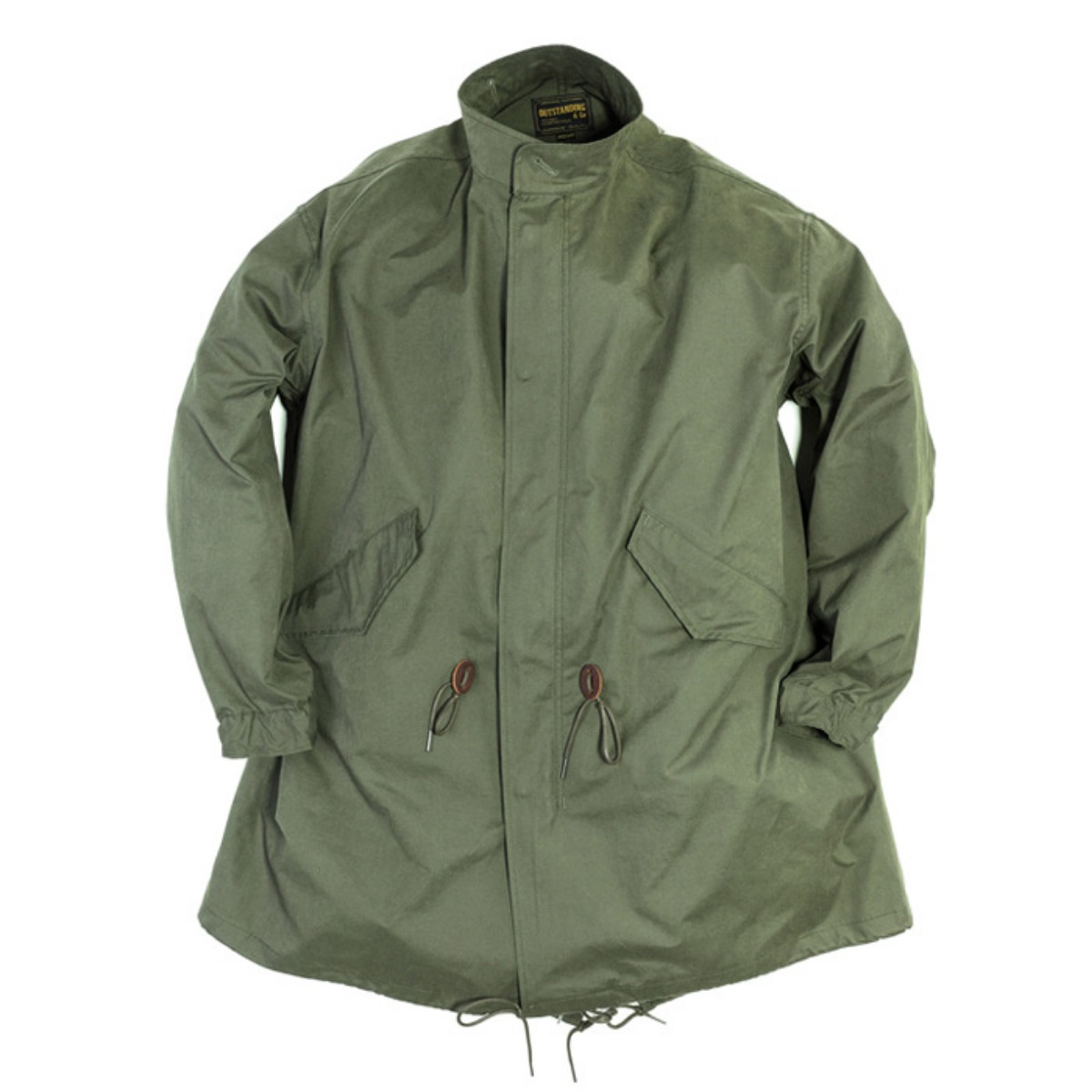 [OUTSTANDING] FISHTAIL PARKA 'OLIVE'
