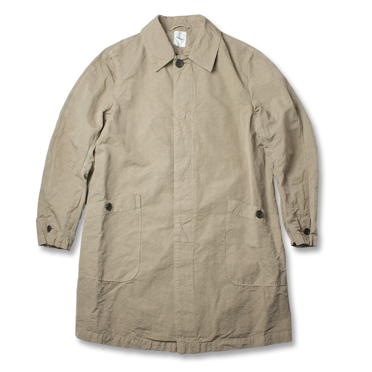 [SAGE DE CRET] HIGH COUNT WEATHER COAT 'BEIGE'