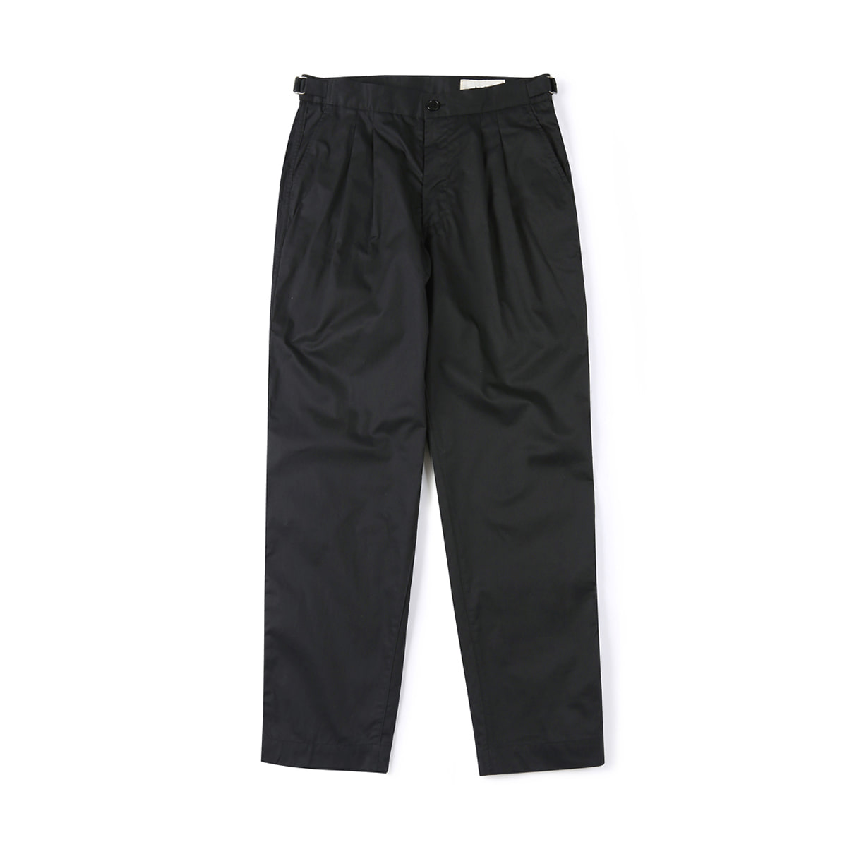 [SHIRTER] HARD WASHER COTTON PANTS 'BLACK'