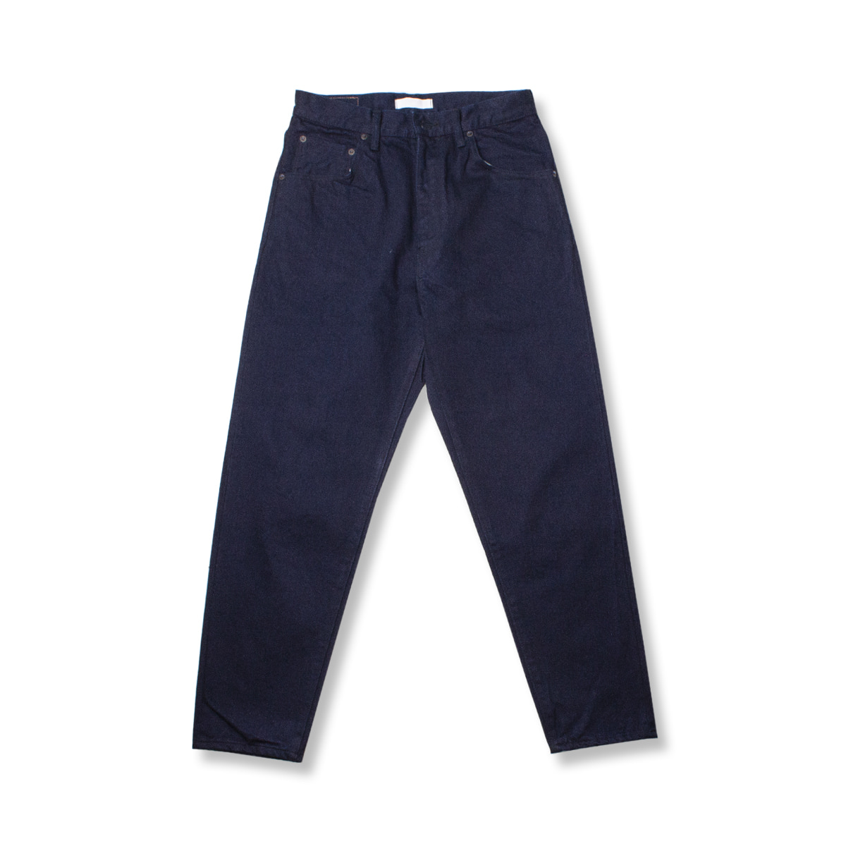 [HATSKI] REGULAR TAPERED DENIM 'INDIGO BLACK'
