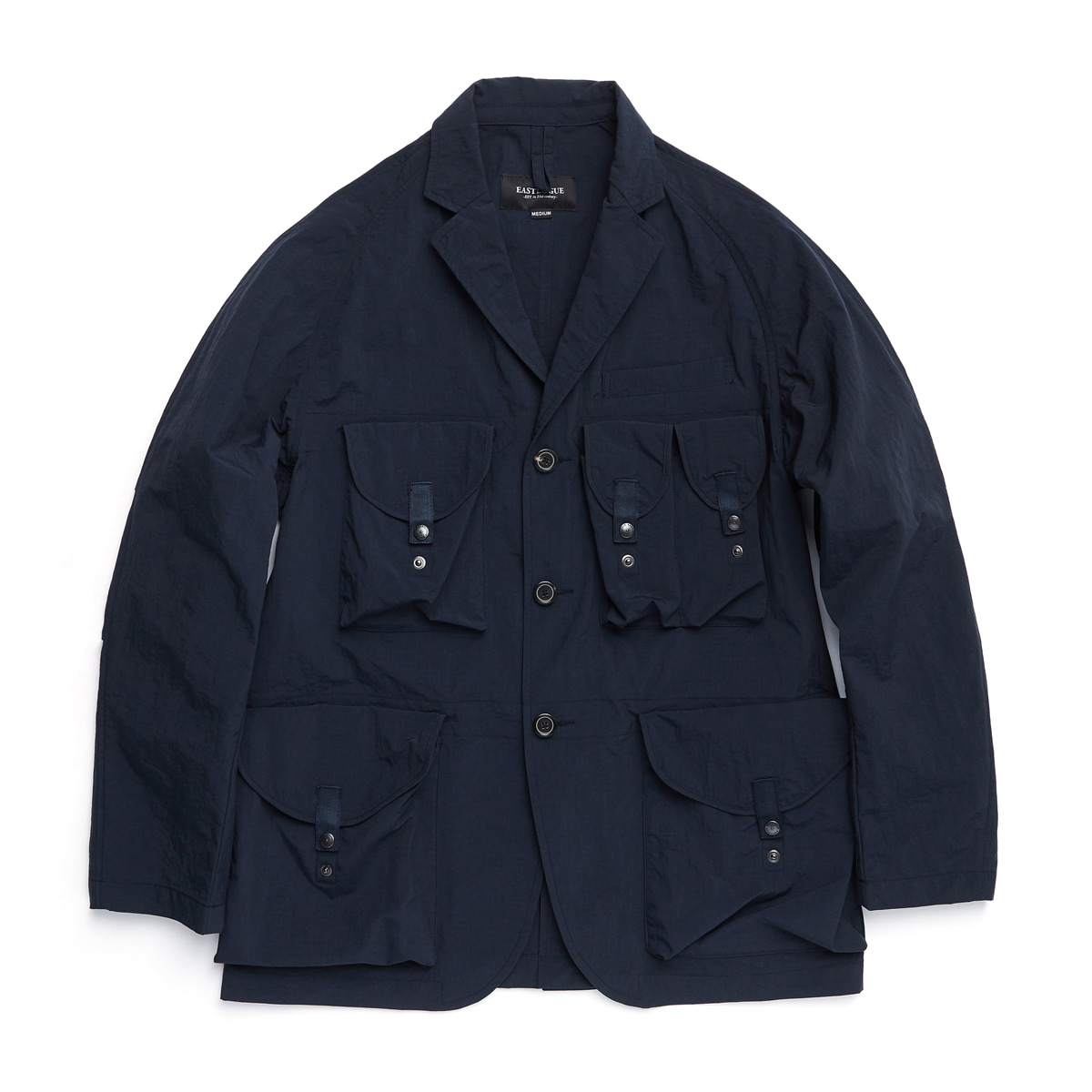 [EASTLOGUE] TREKKING JACKET 'NAVY RIPSTOP'