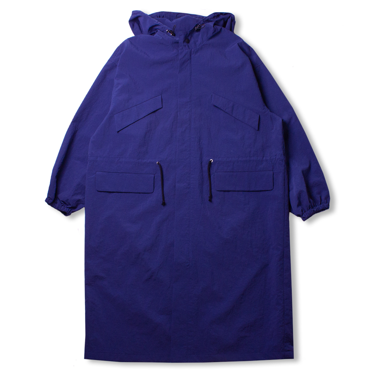 [CONICHIWA BONJOUR] WIDE SAFARI COAT 'NAVY'