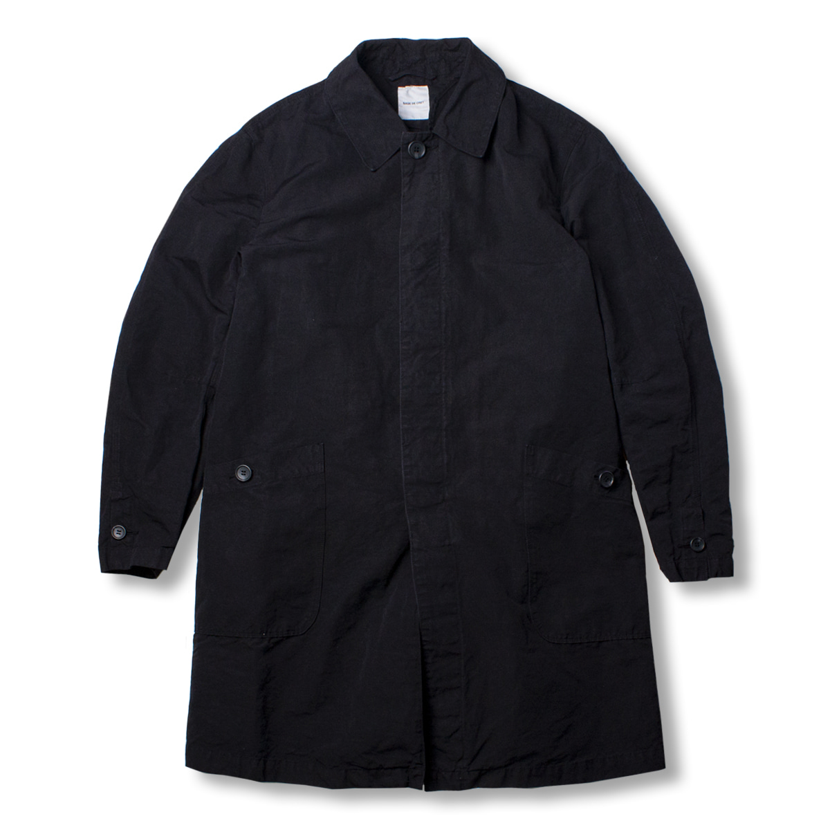 [SAGE DE CRET] HIGH COUNT WEATHER COAT 'BLACK'