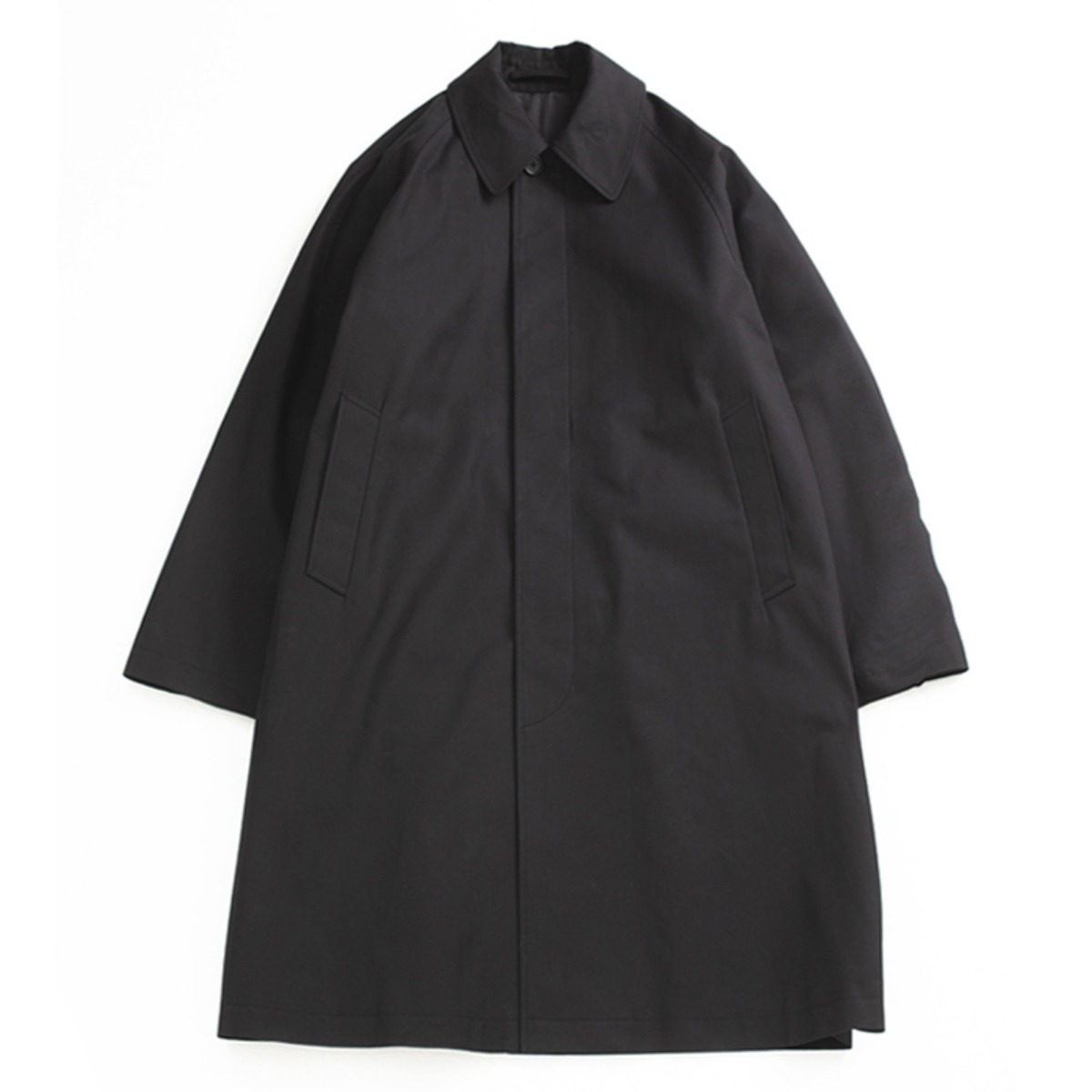[BROWNYARD] BALMACAAM COAT 'BLACK'