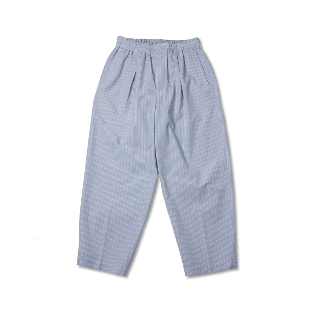 [HAVERSACK] LINE STRIPE EASY PANTS 'SKYBLUE'