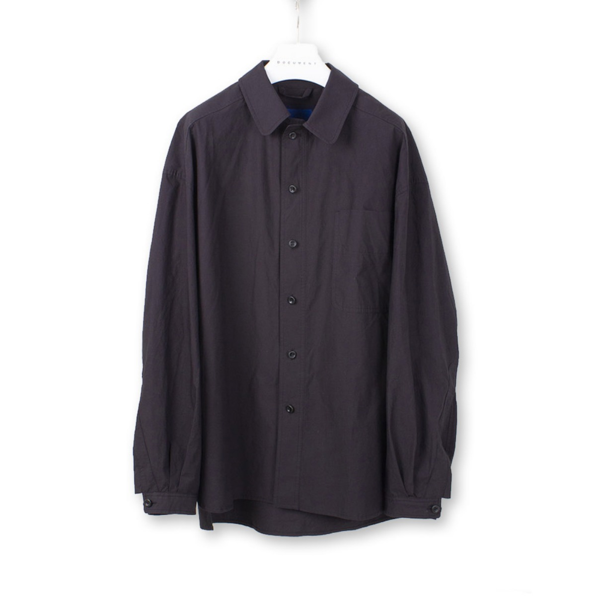 [DOCUMENT] THE DOCUMENT SET UP SHIRT 'NAVY'