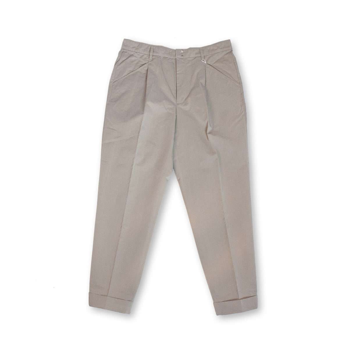 [BEHEAVYER] TUCK PANTS 'GREY'