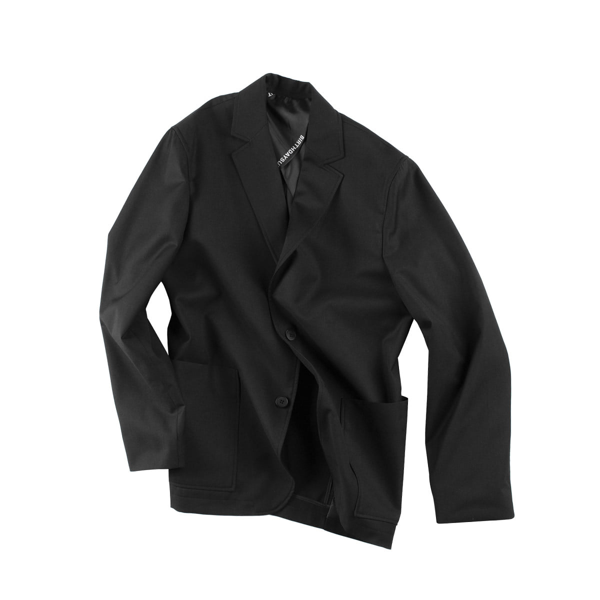 [BIRTHDAYSUIT] DAILY SUIT JACKET 'BLACK'