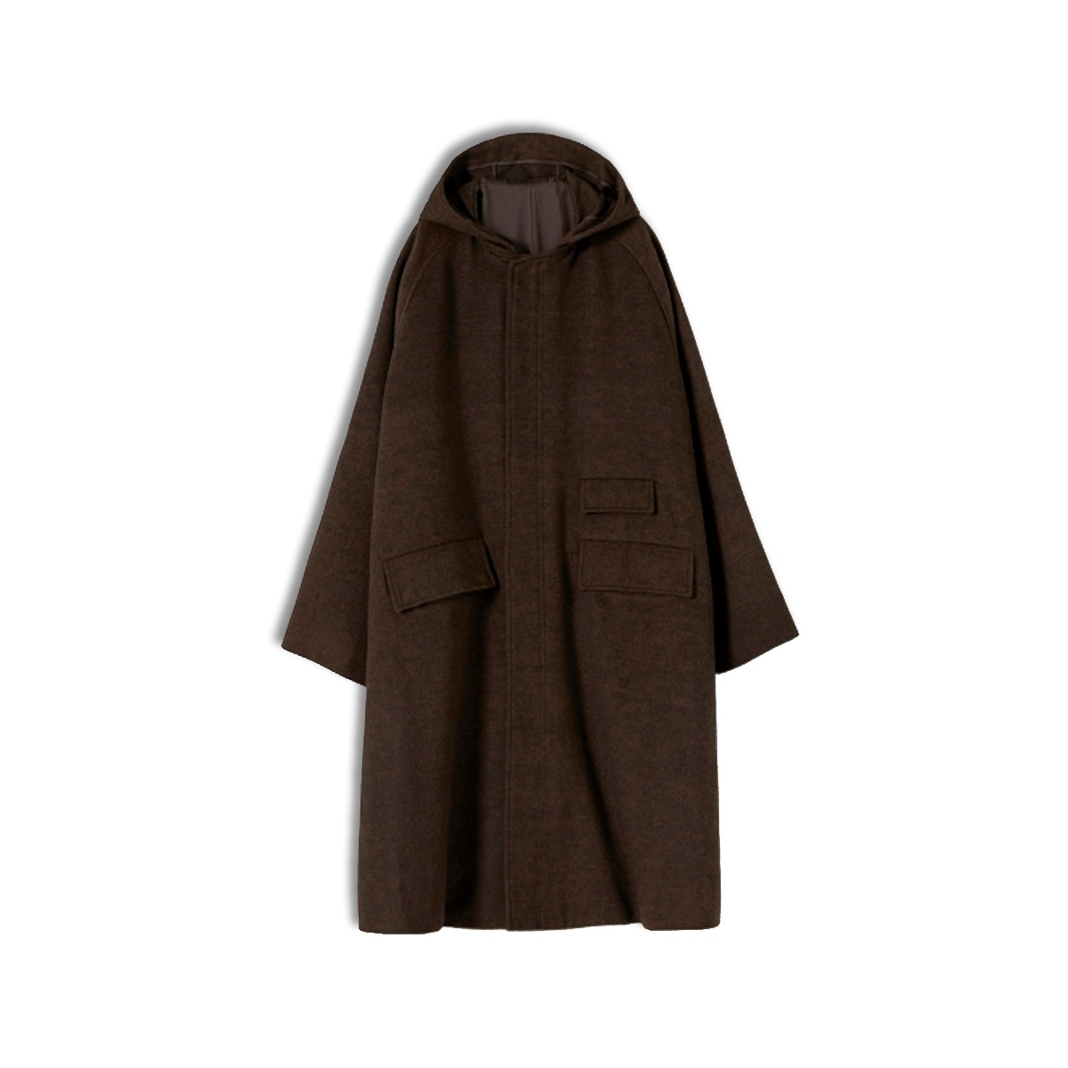 [YOUTH] HOODED COAT 'BROWN'